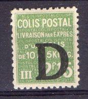 FRANCE ( COLIS POSTAUX ) : Y&T  N°  140  TIMBRE  NEUF  AVEC  TRACE  DE  CHARNIERE , A  VOIR . - Neufs