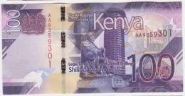 Kenya P NEW - 100 Shillings 2019 - UNC - Kenia