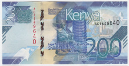 Kenya P NEW - 200 Shillings 2019 - UNC - Kenia