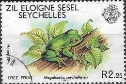 ZIL ELWANNYEN SESEL 1981 Wildlife - 2r.25 - Tree Frog FU - Seychelles (1976-...)