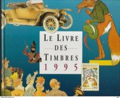Le Livre Des Timbres 1995 (sans Les Timbres Avec Cartonnage, TB état) - Livres, BD, Revues