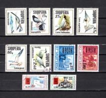 Albania  1973    .-  Y&T Nº  1433/1438-1439/1440-1441/1442 - Albanie