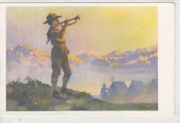 Der Morgenstreich Des Pfadfinders          (A-137-190501) - Scouting