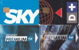 SCHEDE PREPAGATE E RICARICHE PREMIUM- SKY - D+ USATE - Italie