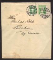 8376- Switzerland , Schweiz , Michel 113II 5c Type II On Uprated Wrapper - Ganzsache  – Postal Stationery - Interi Postali