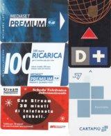 SCHEDE PREPAGATE E RICARICHE PREMIUM- CARTAPIU LA7 - D+ - STREAM USATE - Schede GSM, Prepagate & Ricariche