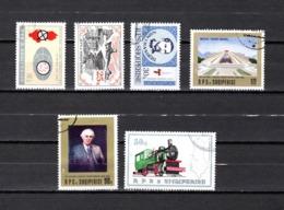 Albania  1982-89    .-  Y&T Nº  1926-2084-2108-2171-2172-2175 - Albanie