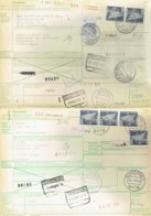 2 International Paketkarte Mit Der Bahn-RFA Schonsee Und Kirchheim Nach Waregem Et Heule Belgien - Siehe Beschreibung - [7] Federal Republic