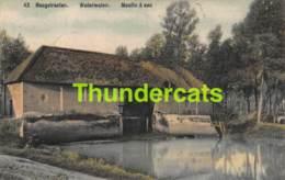CPA HOOGSTRATEN HOOGSTRAETEN WATERMOLEN MOULIN A EAU KLEURKAART CARTE COLORISEE - Hoogstraten