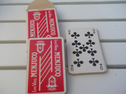 Jeu De 32 Cartes à Jouer - Vin MENJUCQ - 32 Cartes