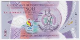 Vanuatu P NEW - 500 Vatu 2017 2019 Commemorative - UNC - Vanuatu