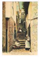 CPA.Guernsey. St Pierre Port. Les Marches De Cliflon.   (M.260). - Guernsey