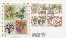 FDC MONACO LA VIGNE LES 4 SAISONS / 2 - Pflanzen Und Botanik