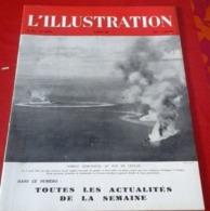 WW2 L'Illustration N°5218 Mars 1943 Ligne Démarcation Halluin Moulins,Main D'oeuvre Française En Allemagne,La Crau - Periódicos