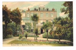 CPA. Guernsey. St Pierre Port. Maison De Victor Hugo. Le Jardin   (M.271). - Guernsey