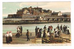 CPA. Guernsey. St Pierre Port. Le Château Cornet.  (M.272). - Guernsey