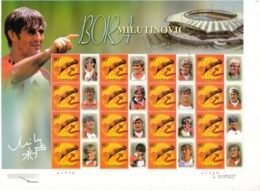 2002 China  Stamps  World Famous Football Coach Bora Milutinovic  Special Sheet(lower-left Corner Is Hologram) - Coppa Del Mondo