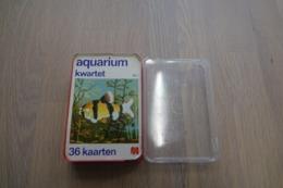 Speelkaarten - Kwartet, Aquarium, Nr 2, Jumbo , *** - - Kartenspiele (traditionell)