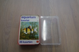 Speelkaarten - Kwartet, Aquarium, Nr 2, Jumbo , *** - - Cartes à Jouer Classiques