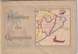 Dubonnet Histoire Du Quinquina Livret Diffusé Lors De L'Exposition Coloniale Internationale De Paris En 1931 - Publicités