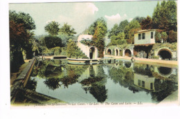CPA. Jersey.St-Sauveur.Les Caves.Le Lac.      (M.230 ). - Jersey