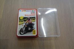 Speelkaarten - Kwartet, Motos Motorrijwielen, Nr 138, FX Schmid - Hemma , *** - Vintage - Kartenspiele (traditionell)