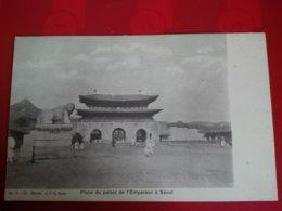 SEOUL PLACE DU PALAIS DE L EMPEREUR - Korea (Zuid)