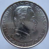 Monaco 1 Franc 1966 AUNC Scarce - Monaco