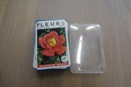 Speelkaarten - Kwartet, Bloemen(fleurs), Nr 278, Piatnik-Wien, *** - - Kartenspiele (traditionell)