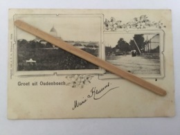 ALDERBERGE « GROET UIT OUDENBOSCH  1901»  Edit J.F.H. - Pays-Bas