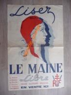 MARIANNE - Revue De Presse Maine Libre -  Beauce  - Perche - Anjou - Le Vendômois - Basse-Normandie ( Croix De Lorraine - Posters