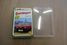Speelkaarten - Kwartet, Sportwagen, Nr 52522, Schmid 100 Years Anniversary , *** - - Cartes à Jouer Classiques