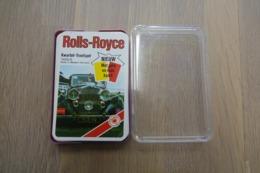 Speelkaarten - Kwartet, Rolls-Royce, Qaurtett 7605/5, ASS, *** - - Cartes à Jouer Classiques