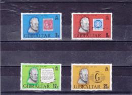 GIBRALTAR 1979 ROWLAND HILL Yvert 389-392 NEUF** MNH - Gibraltar