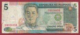 Philippines 5 Piso 1985/1994 (Sign14) Dans L 'état --(213) - Philippinen