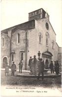 FR66 PERPIGNAN - Brun 602 - église La Réal - Fontaine - Animée - Belle - Perpignan