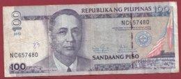 Philippines 100 Piso 2012 Dans L 'état --(215) - Philippinen