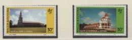 AB4 Wallis Et Futuna** 1993 455 /456 édifices Religieux - Luftpost