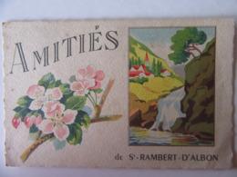 Cpa, Belle Carte, Amitiés De Saint Rambert D'Albon - Andere Gemeenten