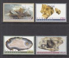 1998 2000 Armenia Minerals Geology   Complete Set Of 4 MNH - Minerali