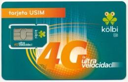 COSTA RICA GSM (SIM) CHIP CARD KOLBI FROG 4G MINT UNUSED - Costa Rica