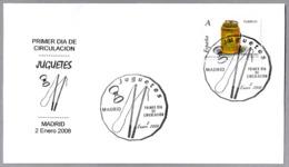 JUGUETES - TOYS. DIABOLO. SPD/FDC Madrid 2008 - Otros