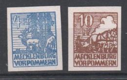 SBZ , Mecklenburg Vorpommern, Nr 30+35 X Postfrisch ( 68.-) - Sowjetische Zone (SBZ)