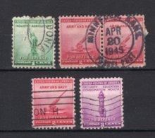 UNITED STATES Yt. 451/453° Gestempeld 1940 - United States
