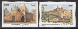 2015 Libya Archaeology Castles Complete Set Of 2 MNH - Libye