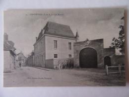 Cpa, Trés Belle Vue Animée, Continvoir, Indre Et Loire,  Le Manoir - Altri Comuni