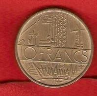 France 1974:  10 FRANCS  -  Nouveaux Francs - 5ème République - Monnaie - France