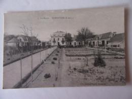 Cpa, Trés Belle Vue Animée, Continvoir, Indre Et Loire, Le Manoir - Frankreich