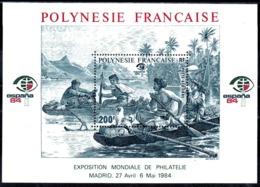 POLYNESIE - YT BF N° 9 - Neuf ** - MNH - Cote: 8,50 € - Blocs-feuillets