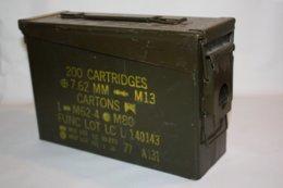 Caisse De Munitions US D'occasion - Equipement